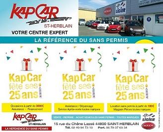 En 2017, KAP CAR fête ses 25 ans !