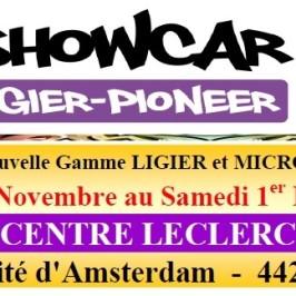 Exposition Showcar LECLERC Pornic
