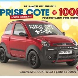 REPRISE  COTE   +1000€