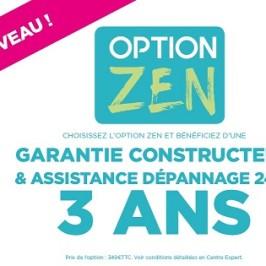 OPTION ZEN – GARANTIE 3 ANS